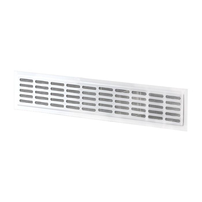 Метална решетка Vents MVM / 10-3K 475x71x80мм бяла