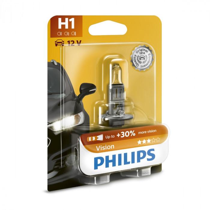 Халогенна крушка H1 Philips Premium +30% 12V