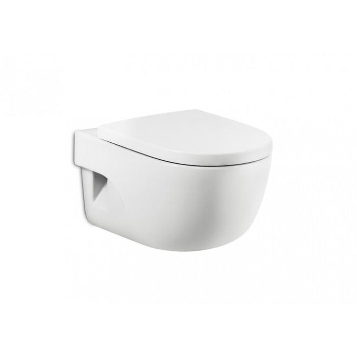 Окачена тоалетна чиния Roca Meridian / компактна