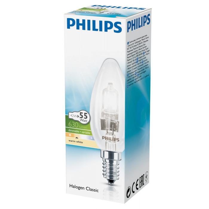 Халогенна крушка Philips Екокласик 30 свещ