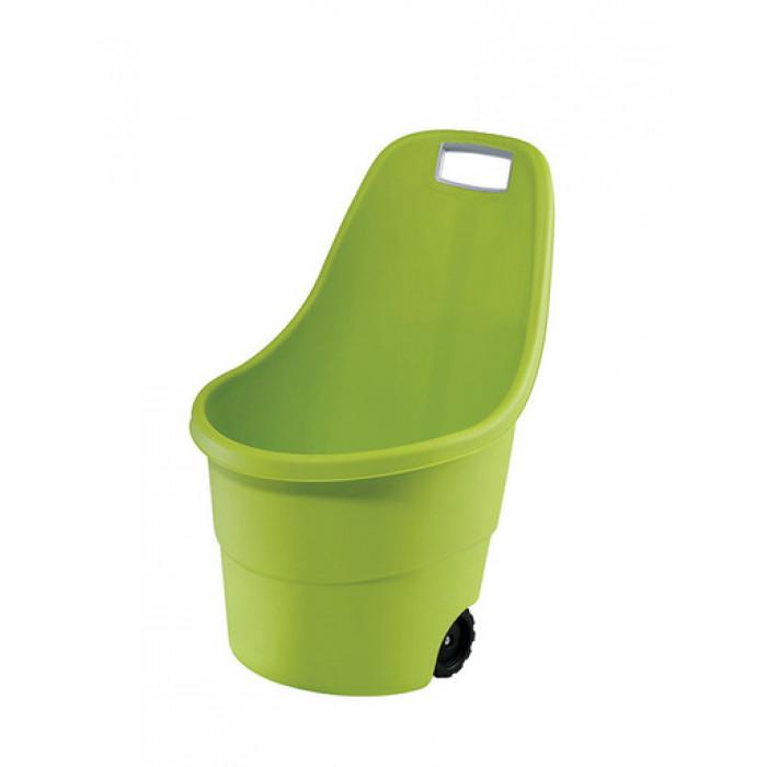 Градинска количка Easy Go 55 литра / зелена