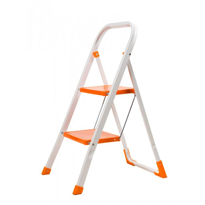 Домакинска метална стълба 2 стъпала / 82см