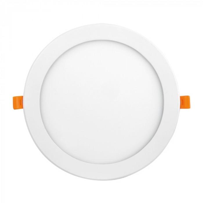 LED панел за вграждане кръг 12W / 4000K неутрална светлина