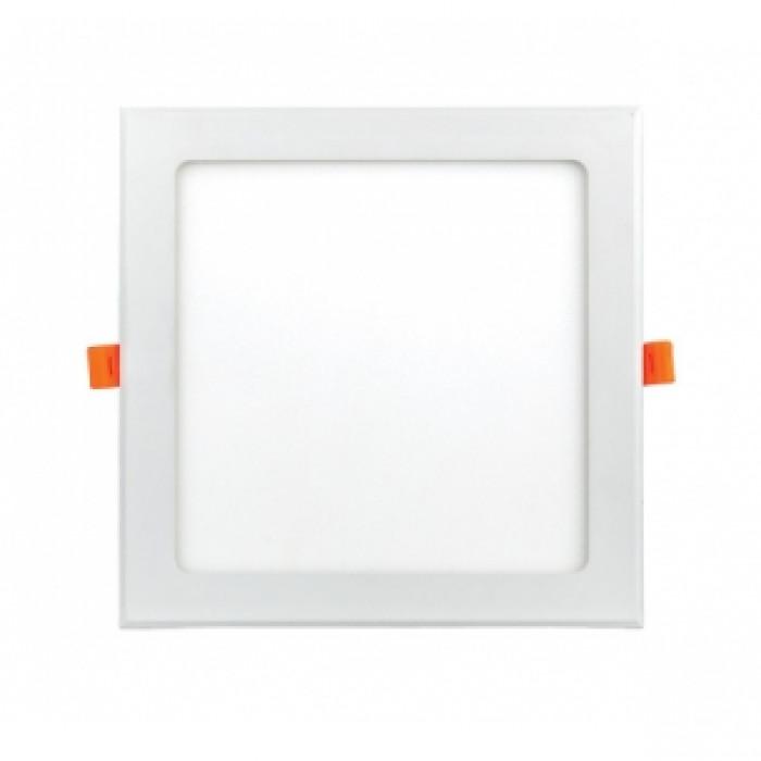 LED панел за вграждане квадрат 24W / 4000K неутрална светлина