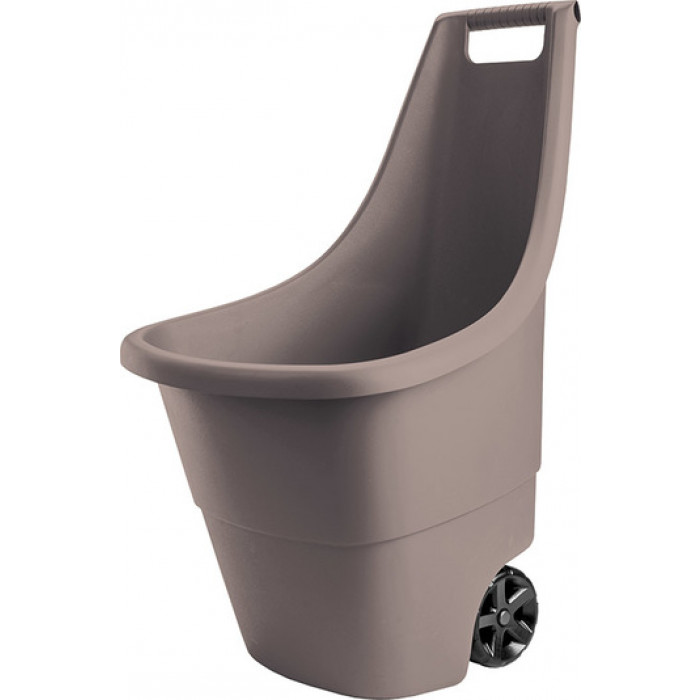 Градинска количка Easy Go Breez 50 литра / таупе
