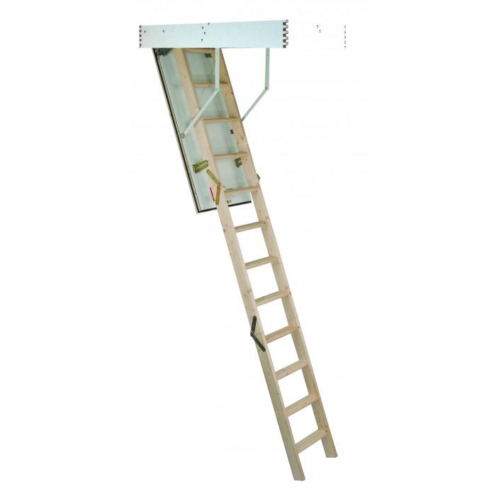 Сгъваема таванска стълба Minka MC Step Thermo светъл отвор 120х60см