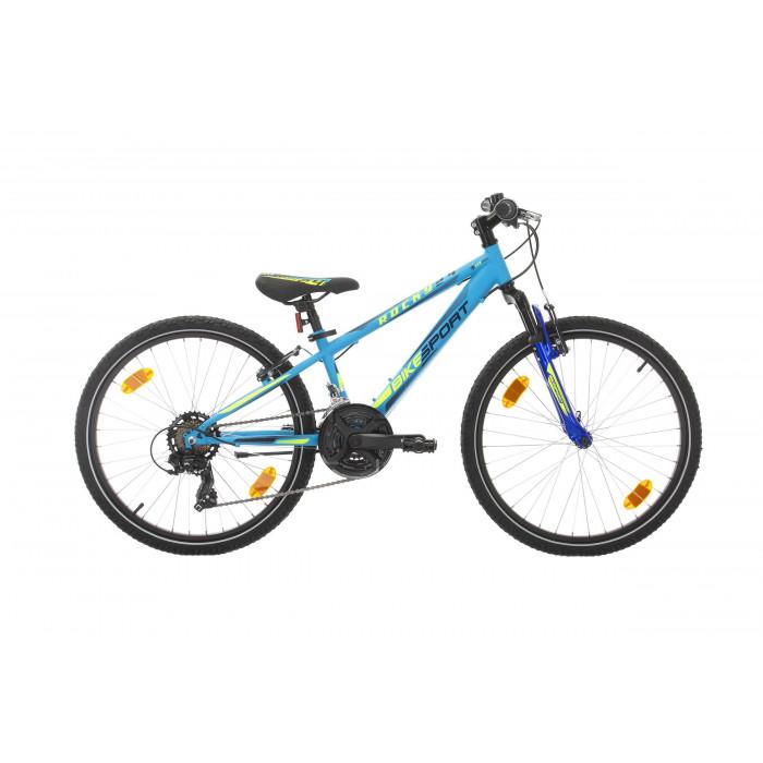 """Велосипед Bikesport Rocky 24"""" x 340мм син мат"""