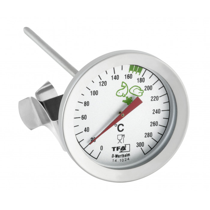 Термометър за пържене 0 до +300°С Ø51x60x162мм