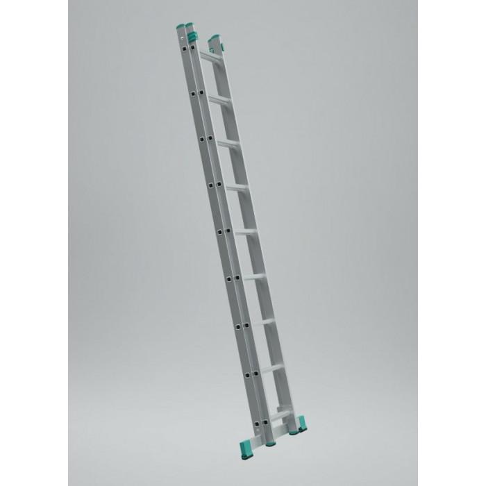Алуминиева стълба 2x7 150кг 314см