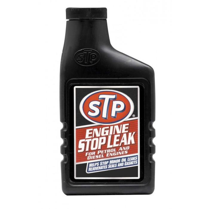 Добавка за спиране теча на масло в двигателя STP 300мл