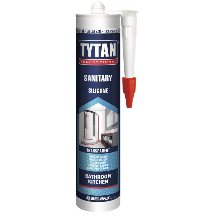 Санитарен силикон tytan прозрачен 280мл