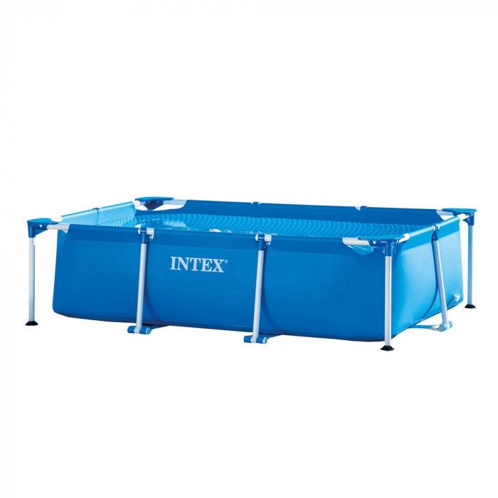 Сглобяем басейн с метална рамка Intex 28270NP / 220x150x60cm