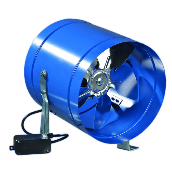 Канален метален вентилатор Vents VKOM 200 / 208x220x208мм