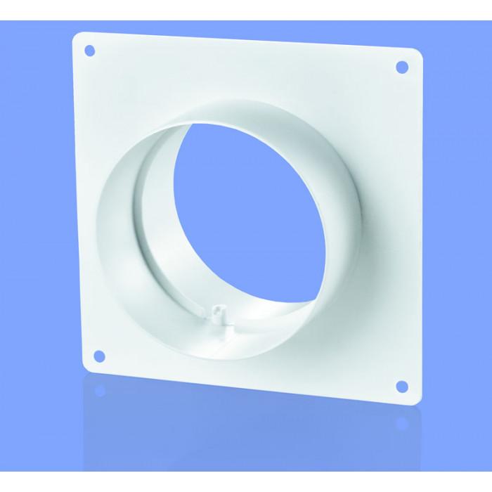 Конектор за стена с борд Vents 252 / ø125x62x170мм