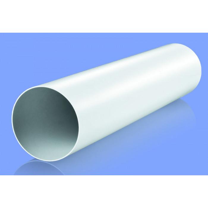 Кръгъл PVC въздуховод Vents 2005/1 ø125/0.5 м