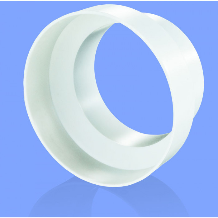 PVC редуктор Vents 110 ø80/100мм / 60x103x80мм