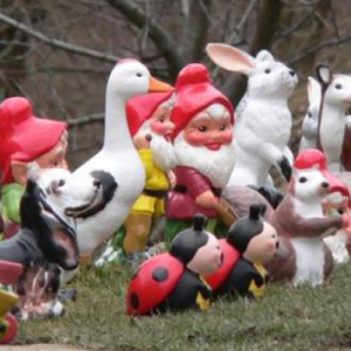 Градински керамични фигурки