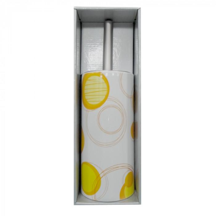 Четка за тоалетна порцелан №200a9348 оранжево