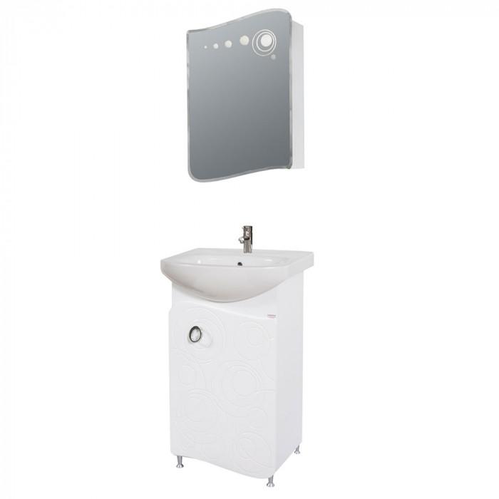Долен шкаф за баня с мивка Макена Бъбъл