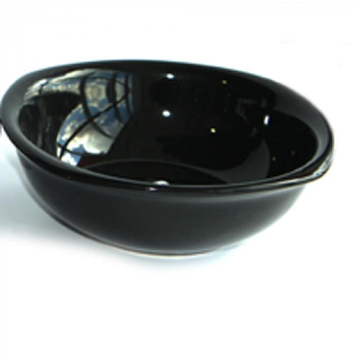 Керамична квадратна купа 16см черна 250ml