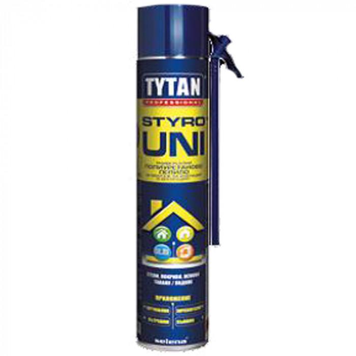Полиуретаново ръчно лепило за топлоизолационни плоскости Tytan Professional 750мл