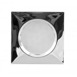 Мебелна LED луничка за вграждане, квадрат, 1.5 W