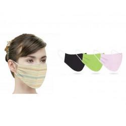 Трислойна предпазна кърпа / тип маска 2 броя