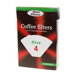Хартиен филтър за кафе №4