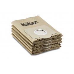 Хартиени филтърни торбички за прахосмукачка Karcher  MV 3 WD3 5 броя