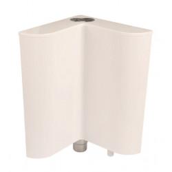 Тоалетно ъглово PVC казанче 044