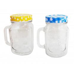 Буркан-чаша ст.цветна с капачеТ5-67/Т5-97