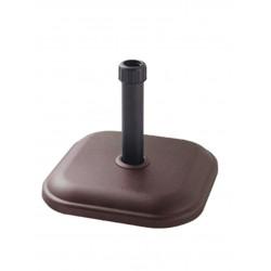 Стойка за чадър TH11-C2 11кг квадрат кафява