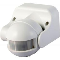 Сензор за движение за външен монтаж 1200W бял