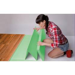 Подложка хармоника 3мм зелена XPS 1.05x5m