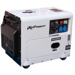 Мотогенератор дизел обезшумен ITC Power DG 6000SE / 5300W