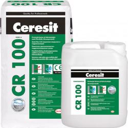 Еластичен двукомпонентен хидроизолационен шлам CR 100