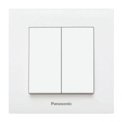 Ключ двоен бял Panasonic Каре Плюс