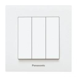 Ключ троен бял Panasonic Каре Плюс
