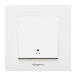 Стълбищен бутон бял Panasonic Каре Плюс