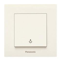 Стълбищен бутон крем Panasonic Каре Плюс