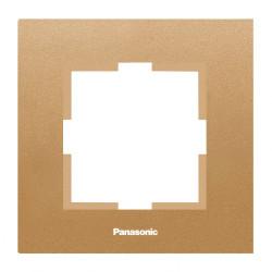 Единична рамка бронз  Panasonic Каре Плюс