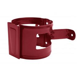 Скоба за водосточна тръба D90mm / керемиден цвят