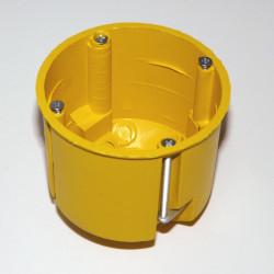 Конзолна кутия едененична за гипсокартон дълбока