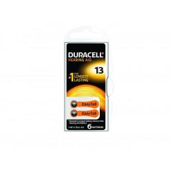 Батерии за слухов апарат ZA 13 Duracell