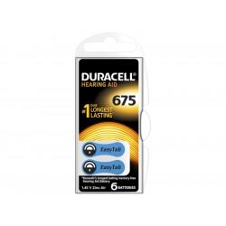 Батерии за слухов апарат ZA 675 Duracell