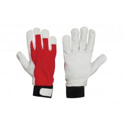 Ръкавици от лицева агнешка кожа B-Wolf Iguana размер 10