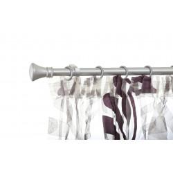Корниз Тиара 120-220 сребро мат