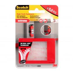 Монтажна лента 6730 3M Scotch Dual Lock VHB прозрачна 4х25мм / 7.5см