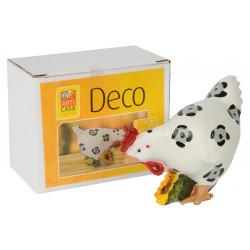 Великденска кокошка 10х5,5х8см