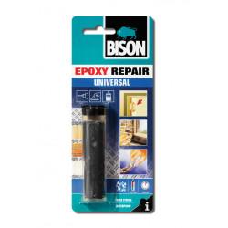 Двукомпонентна епоксидна смес / стомана универсал Bison Epoxy Repair Universal 56 гр / блистер
